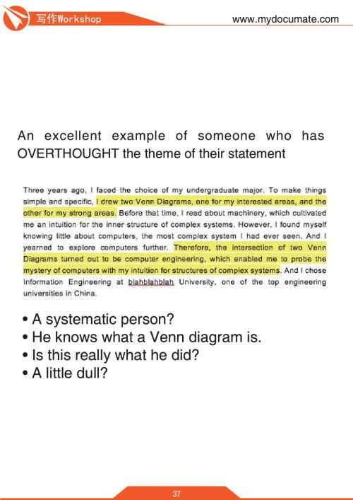 牛津老师的文书写作Workshop 第37页