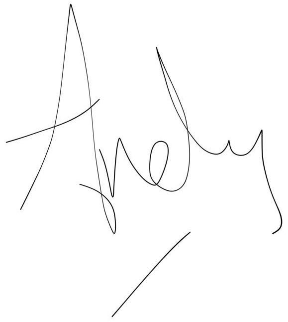 Andy's scribble